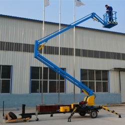 Towable boom lift 6m