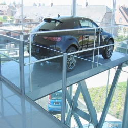 scissor platform lifts for car