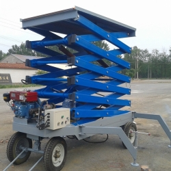 diesel & electric scissor lifts